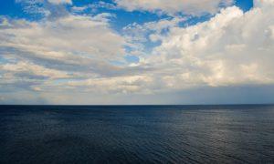 Océano azul
